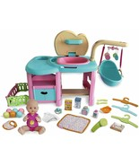 Nenuco Maxi Care Doll Baby Centre Of Aftercare Changing Cot Shower And A... - $399.53
