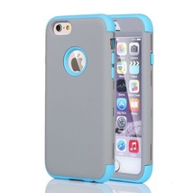 Blue Extreme Armor Case for Apple iPhone 6 & 6s - Rugged Heavy Duty Cover USA - $8.89