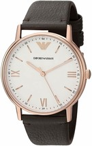Emporio Armani Men's AR11011 Kappa Brown Leather Watch - $98.69