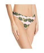 Calvin Klein Women's Invisibles Thong Panty, Pom Pom Print, XS - $9.41