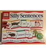 DK Games SILLY SENTENCES Grammar English Age 4 5 6 7 Complete! - $9.89