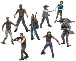 McFarlane Toys Building Sets The Walking Dead TV Show Blind Bag Action F... - $14.35