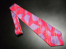 International Union of Bricklayers and Allied Steelworkers Neck Tie Red Purple - $12.99
