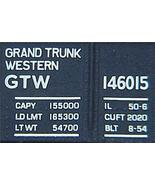 Micro Trains 46120 GTW 50' Gondola 146015 - $20.25
