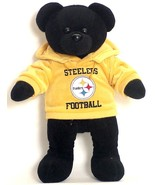 "PITTSBURGH STEELERS 14"" PLUSH HOODIE TEDDY BEAR NEW NFL FOOTBALL - $18.26"
