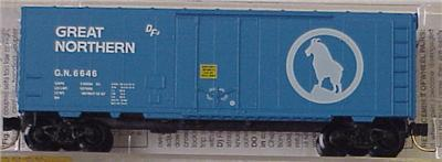 Micro Trains 74030 Great Northern 40' Boxcar 6646