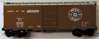 Micro Trains 20700 Rock Island 40' Boxcar 23220