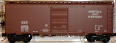 Micro Trains 20606 N&W 40' Boxcar 44324