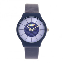 Crayo Trinity Strap Watch - Purple - £69.42 GBP