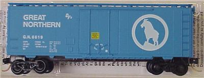Micro Trains 21040 Great Northern 40' Boxcar 6619