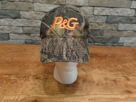 P&G Identity Project Camo Hat Cap Mossy Oak Break Up Camouflage Port Aut... - $5.99