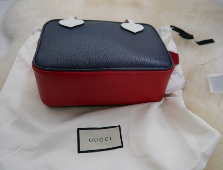 NWT 100% AUTH Gucci Kids Dollar Top Handdle Leather Bag 457230