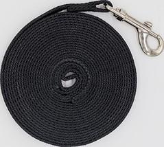 Justzon Cotton Web Dog Training Lead, Black, 20' - $11.92 CAD
