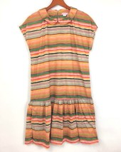 Anthropologie Mia Christopher Spectrum Drop Waist Dress Pockets Size Lar... - $19.79