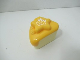 LeapFrog Musical Rainbow Tea Set Cake Slice Replacement Part yellow lemon #2 - $4.94