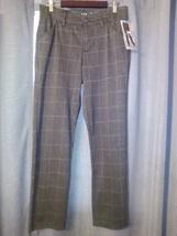 Lee Riders Straight Leg Grey Windowpane Pants- Size: 10P - $12.50