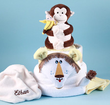 Lion King Personalized Diaper Cake Baby Gift - $168.00