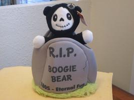 "Halloween Boogie Bear Skeleton Animated Musical ""Somebody's Watching Me""... - £22.98 GBP"