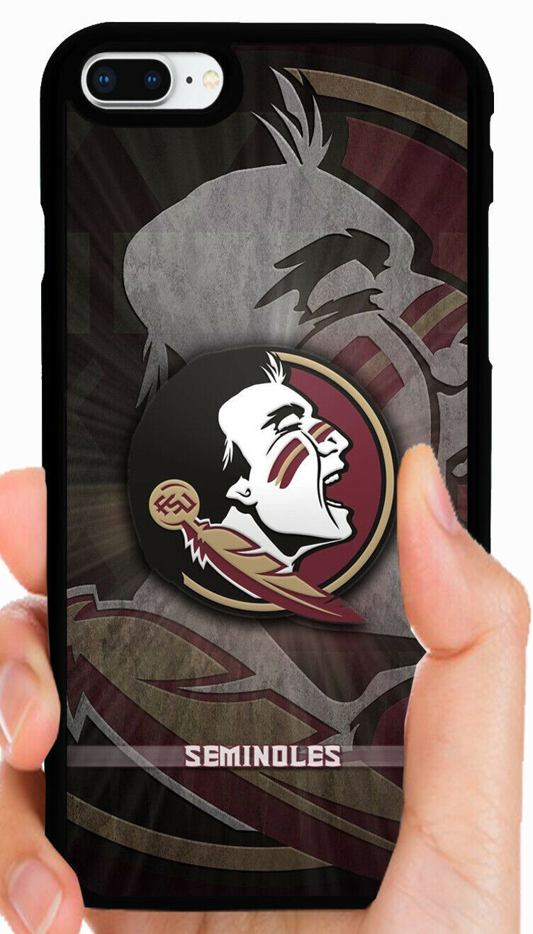 FLORIDA STATE FSU PHONE CASE FOR iPHONE XS MAX XR X 8 7 PLUS 6 6 PLUS 5C 5 5S 4S