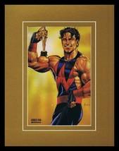 Avengers Wonder Man 1993 Framed 11x14 Marvel Masterpieces Poster Display - $34.64