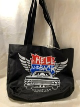 """Supernatural Join The Hunt """"To Hell and Back"""" Tote Bag Purse Bookbag Cul... - $16.59"""