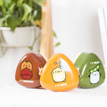 Japanese Cartoon Food Container Sushi Lunch Bento Box Kids Creative Coup... - €9,63 EUR