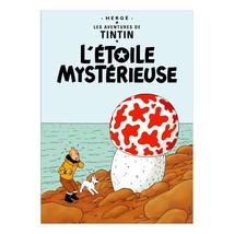 The Shooting Star Tintin poster