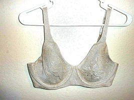 34D Bali Passion For Comfort Back Smoothing Underwire Minimizer Bra 3236 - $12.85