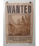 Original 1990 Jim Lee X-Men Wanted Marvel Comics promo poster 1: Wolveri... - $69.99