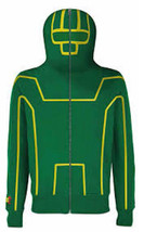 KICK ASS 2 Mens Hoodie M Green SDCC COMIC CON 2013 Sweats Limited USA Shirt - $98.01