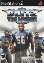 Blitz the League Playstation 2 PS2  Complete CIB - $9.59