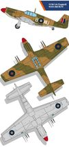 Academy 12338 USAAF P-51 North Africa Airplane Plastic Hobby Model Kit image 4