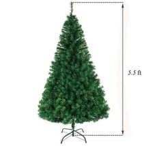 Ship from USA Christmas decoration tree PVC material 90 CM New Artificial Christ image 2