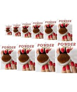 Powder II Perforated 70/30 See Through Window Poster Dipping ad Salon Ve... - $23.96+