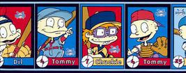 Nickelodeon Rugrats Baseball Wallpaper Border Sports Kids Bedroom Tommy ... - $12.99