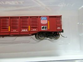 Trainworx Stock # 25203-13 to -18 Mo-Pac/UP Shield 52' Gondola N-Scale image 3