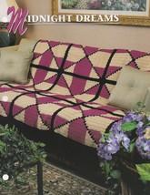 Midnight Dreams, Annie's Crochet Quilt & Afghan Pattern Club Leaflet QAC375 - $3.95