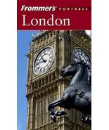Paperback Book Frommer's Portable London 2004 Guide Handy Size - $5.00