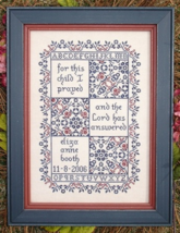 For This Child MBT068 cross stitch chart My Big Toe Designs - $8.00