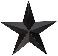 CWI Gifts Barn Star Wall Decor, 12-Inch, Antique Black - $12.16