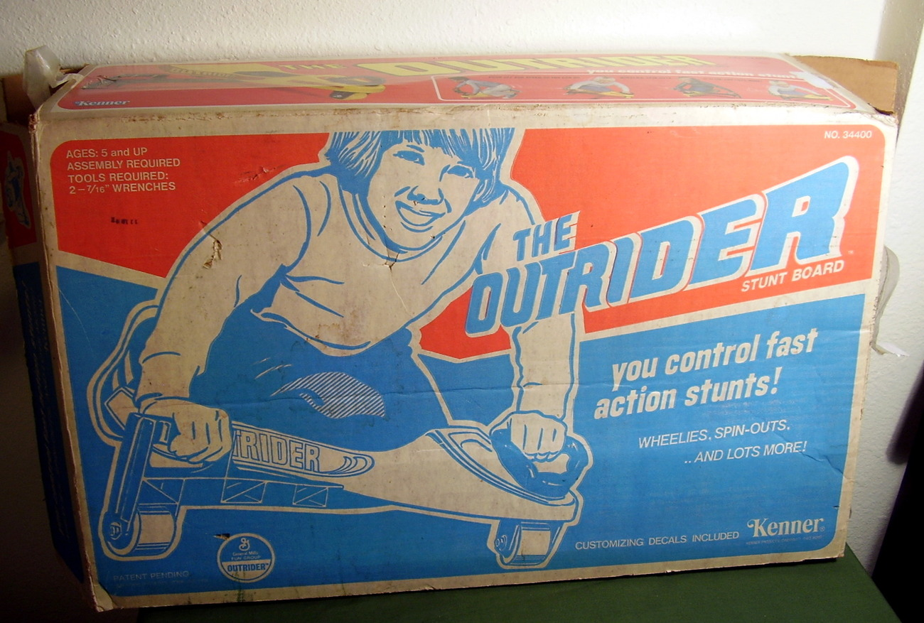 Kenner Outrider Stunt Board 1978 Riding Toy