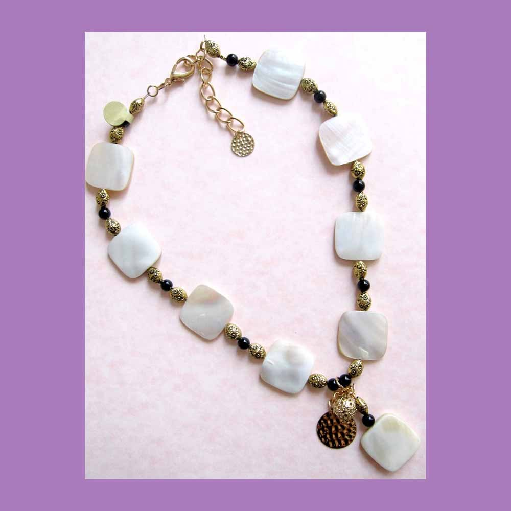 designer necklace of pearl and pearls one of a