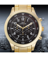 NY London Rembrandt Mens Watch 1 Year Warranty - $22.00