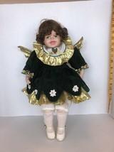 """17"""" Vintage Porcelain Angel Doll - $7.50"""