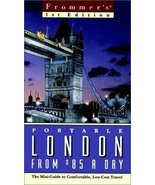 Book Frommer's Portable London from $85 a Day by Frommer's 2000 - $5.00