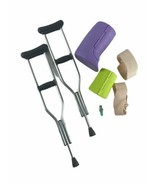 American Girl Doll Accessories Feel Better Set Crutches Cast Bandages Fi... - $17.59