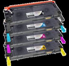 DELL-Compatible 1230 / 1235 Laser Toner Cartridge Set Black Cyan Yellow Magenta - $184.95