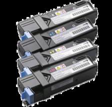 DELL-Compatible 2150CN / 2155CN Laser Toner Cartridge Set Black Cyan Yellow Mage - $239.95