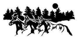 LARGE 14X30 MULE DECAL DECALS VINYL GRAPHIC STICKER - $29.99