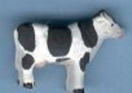 Ceramic Holstein Cow Bead - $5.00